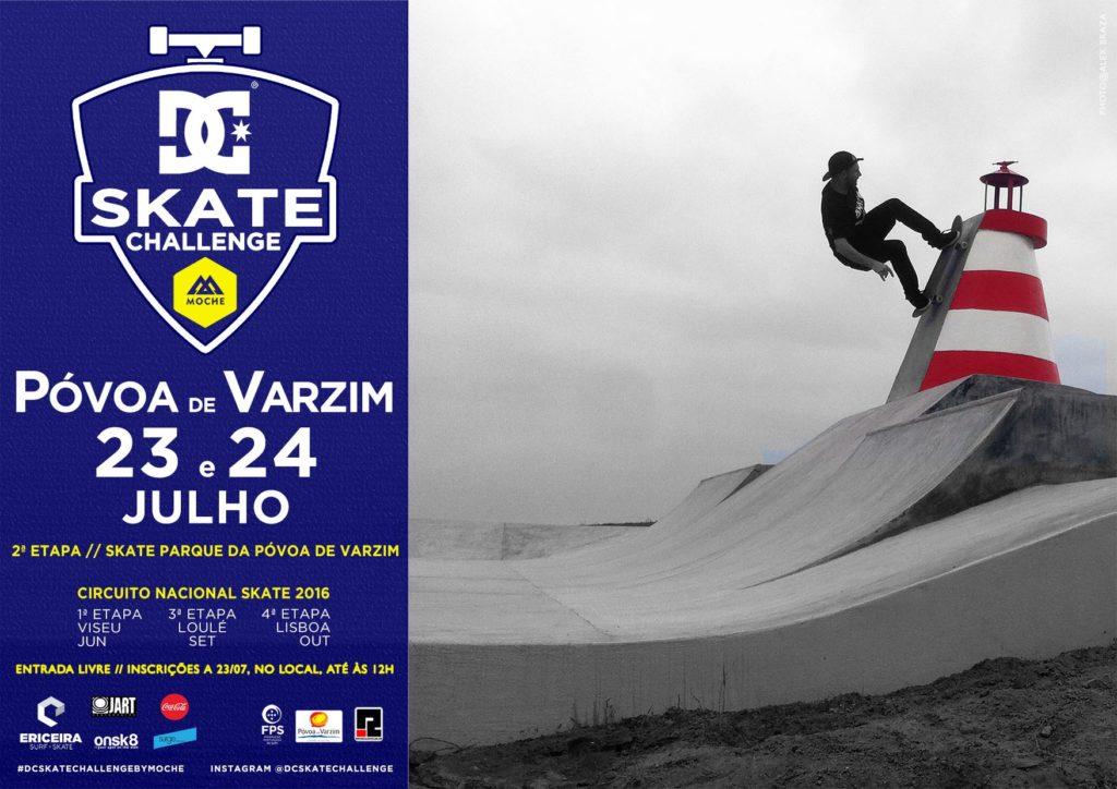2ª Etapa_DC Skate Challenge by Moche_Poster
