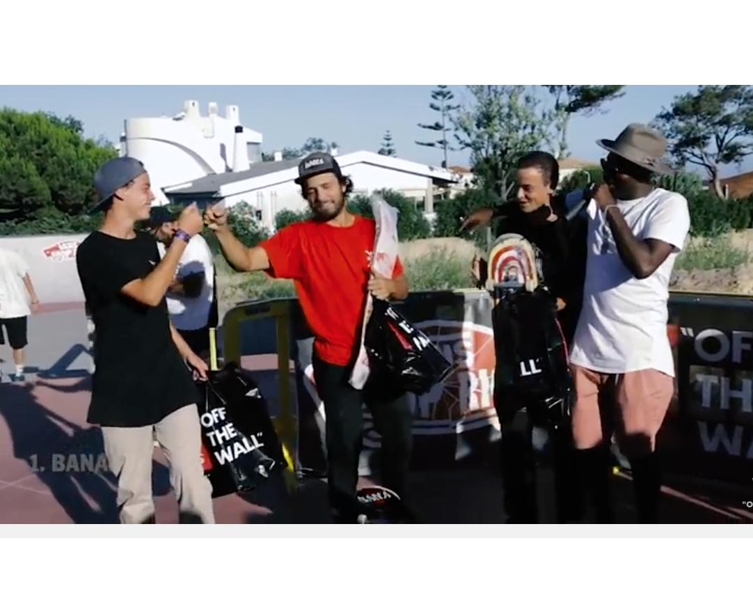 Bana Vence Vans Shop Riot: Vídeo