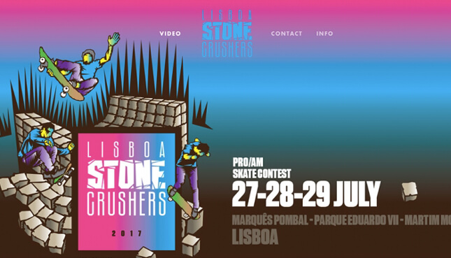 Lisboa Stone Crushers 2017…o Vídeo