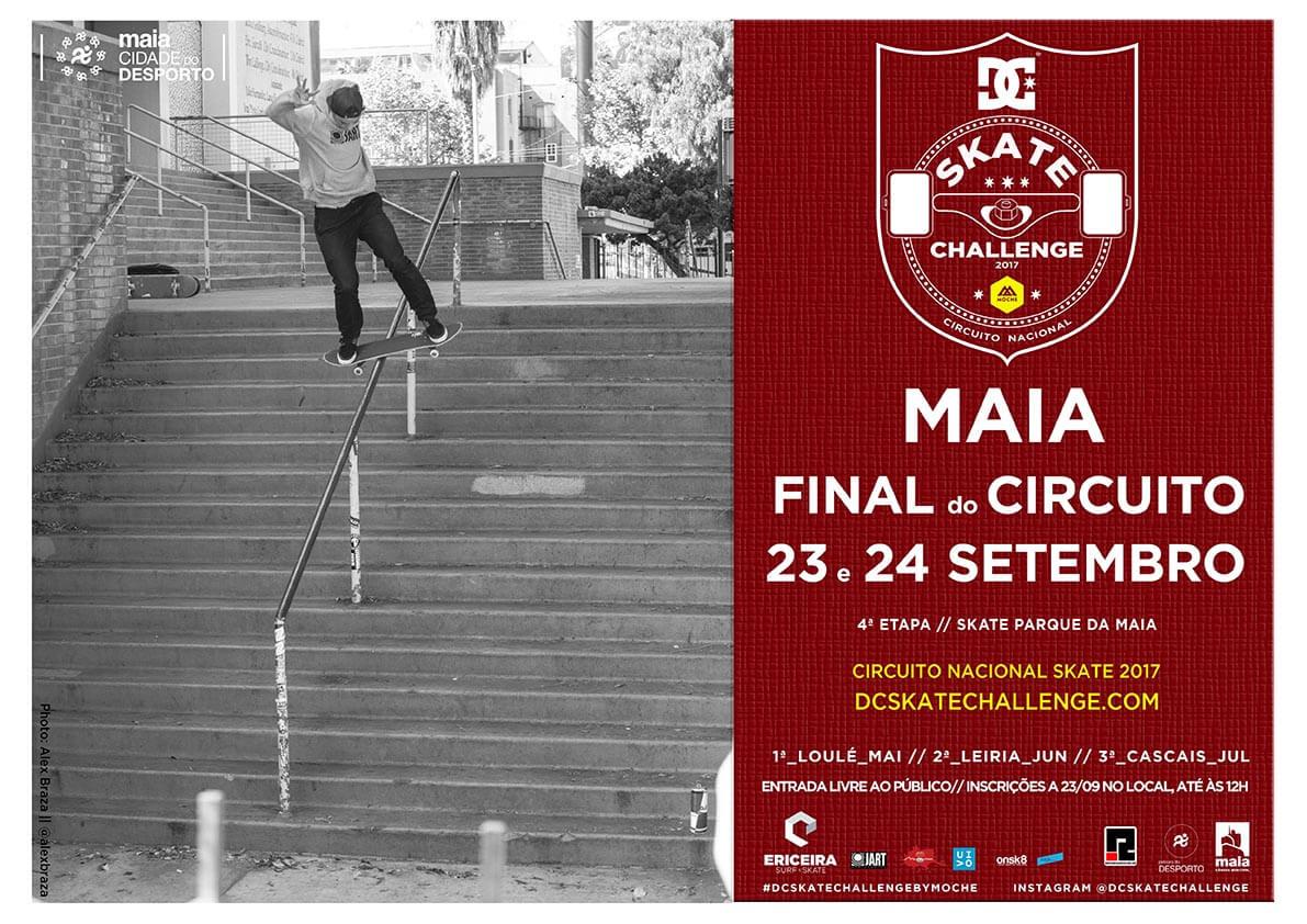 DC Skate Challenge by MOCHE_4ª Etapa_Poster