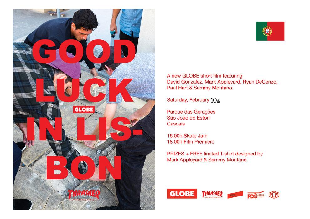 GLOBE – Good Luck In Lisbon