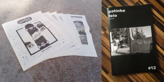 Print Is Not Dead Motherfuckers! Novas Revistas Nacionais De Skate!