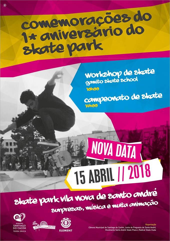 1º Aniversário Santo André Skate Plaza Já Este Fim-de-semana