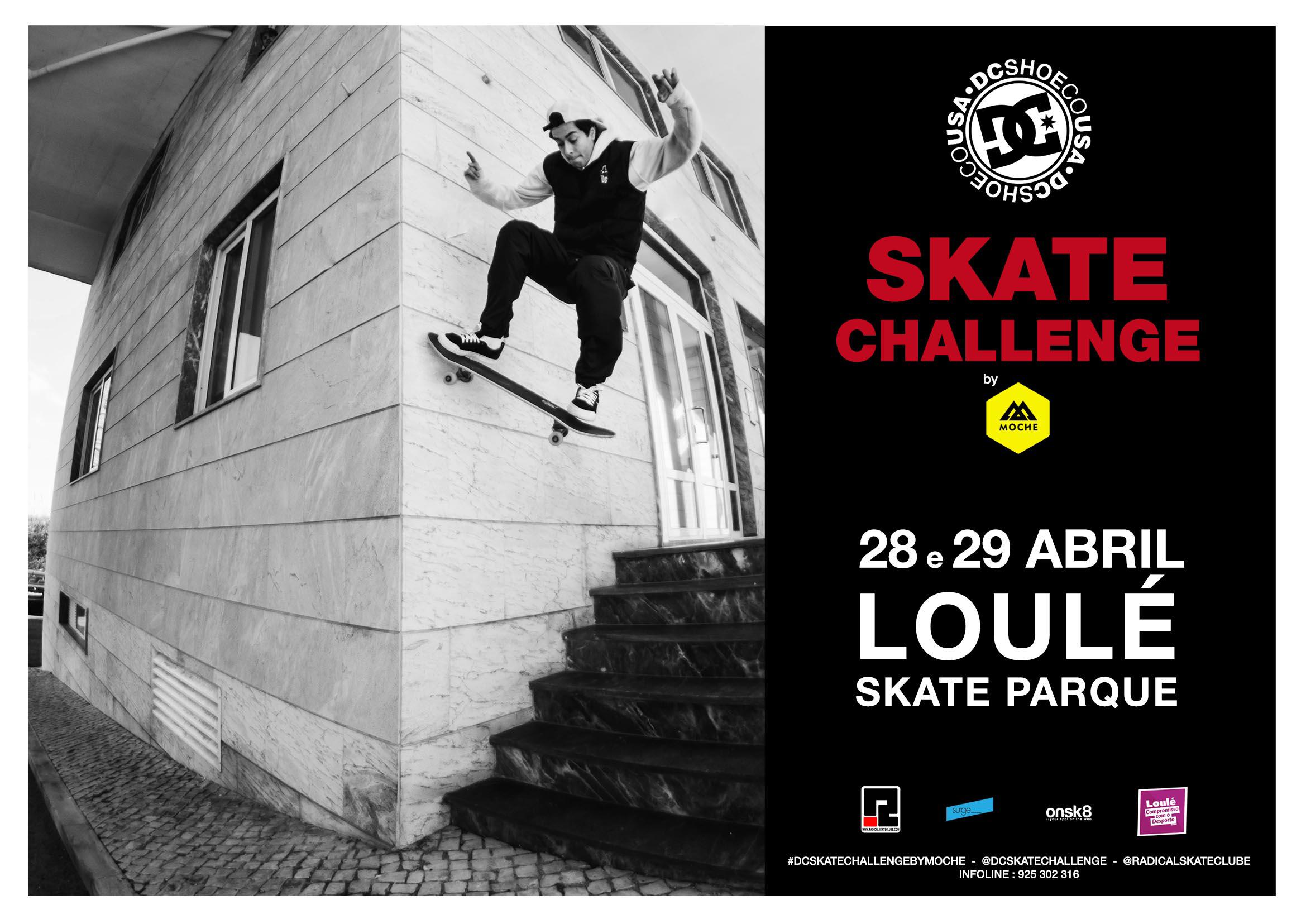 DC Skate Challenge By Moche Arranca Já A 28 E 29 De Abril, Em Loulé