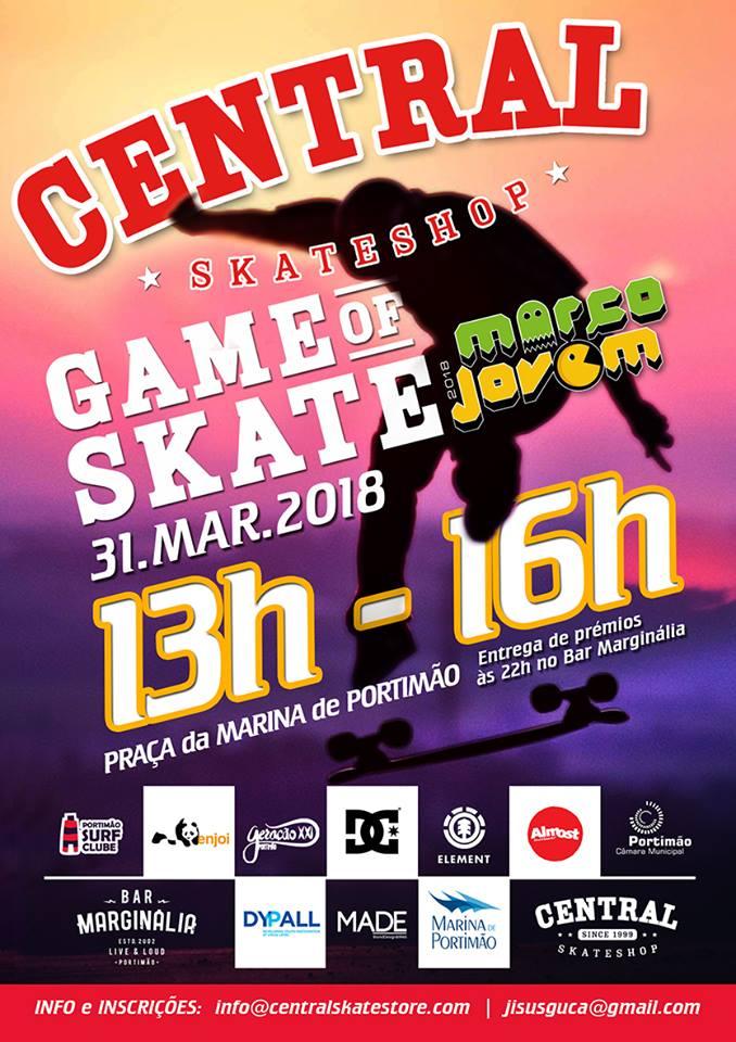 Skate Na Páscoa Em Portimão