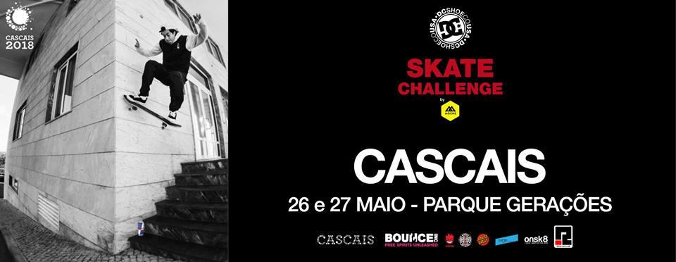 DC Skate Challenge By Moche Já No Próximo Fim-de-semana – Parque Das Gerações