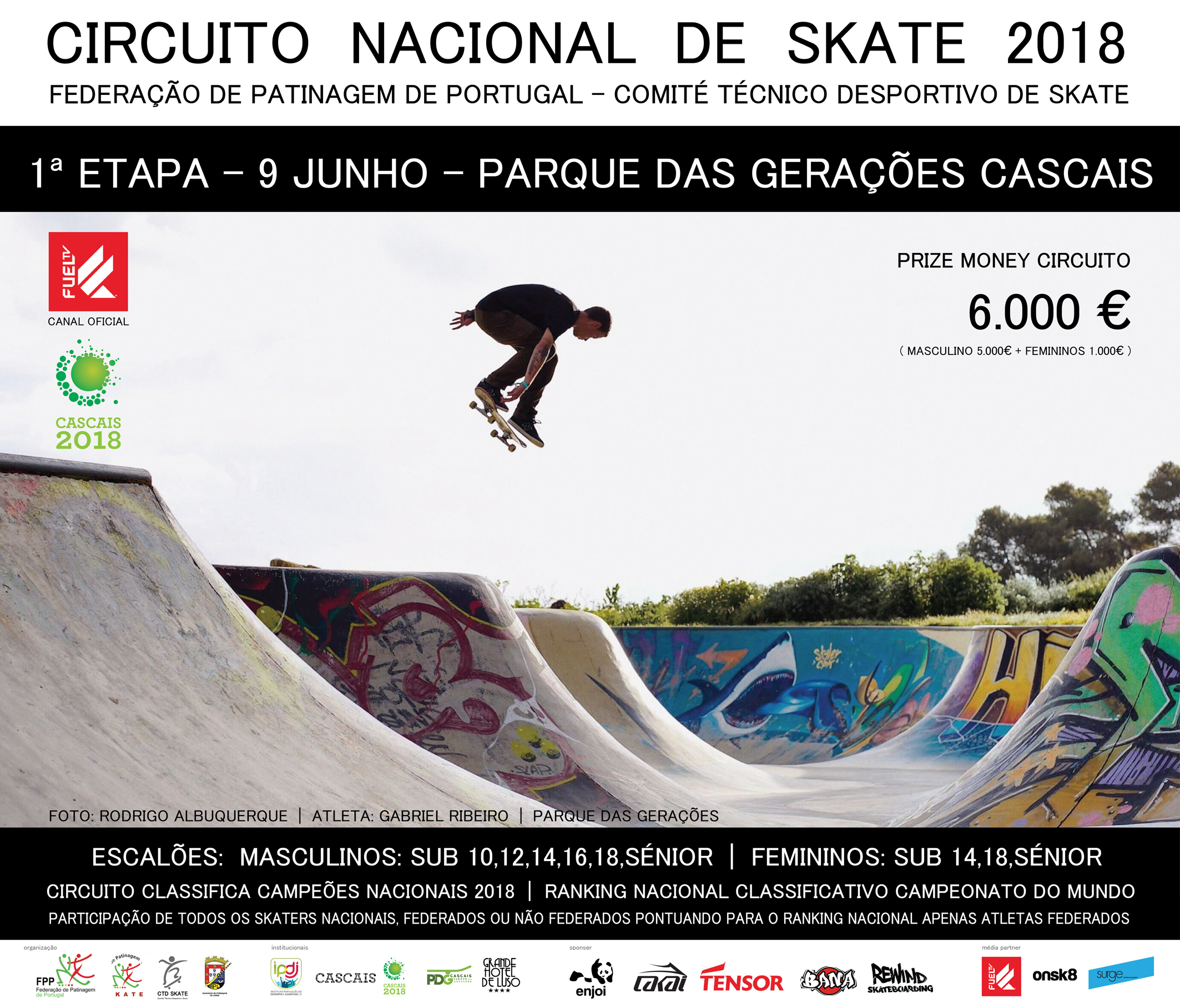 Parque Das Gerações Recebe A 1º Etapa Do Novo Circuito Nacional De Skate