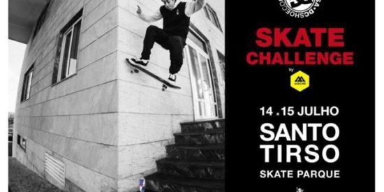 DC Skate Challenge By Moche Este Fim-de-semana Em Santo Tirso
