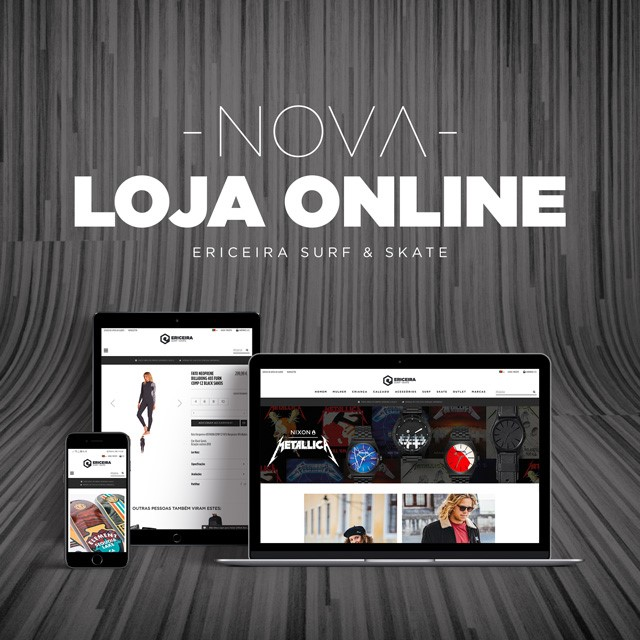 Ericeira Surf & Skate – Nova Loja Online