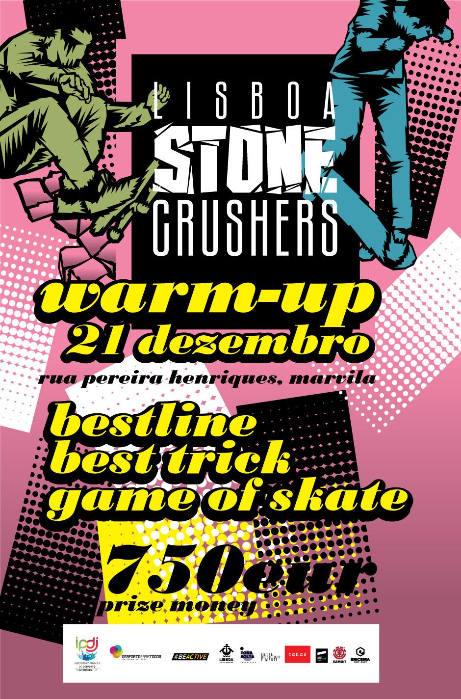 Lisboa Stone Crushers Warm-Up: Ou O Melhor Programa De Entrada No Fim De Semana Natalício
