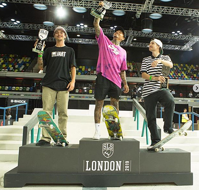 Dia Histórico Para O Skate Nacional, Gustavo Ribeiro Em 2ºlugar No Street League Em Londres