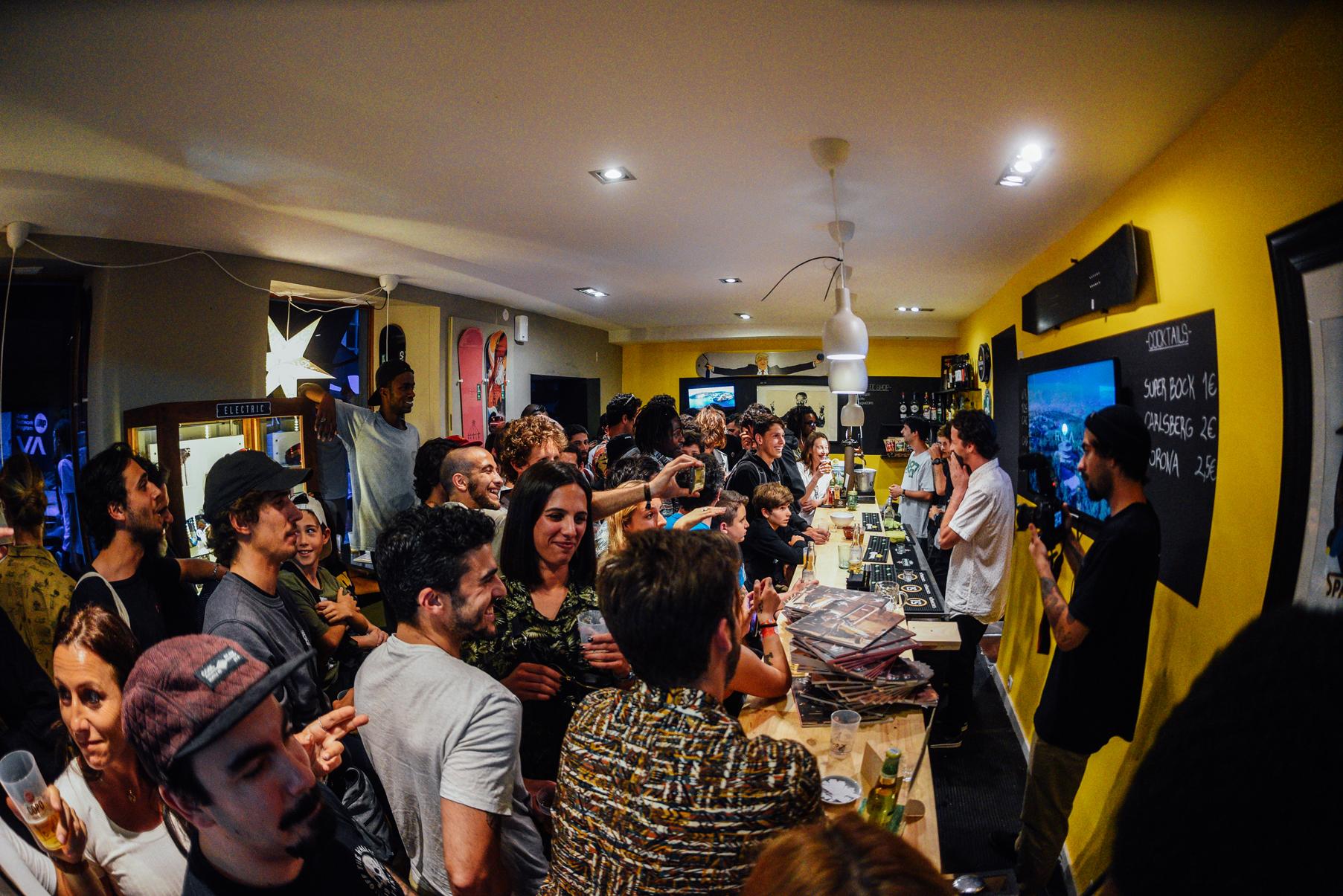Premiere RVCA E Lançamento Da Nova Edição Da Surge…foi Duro!