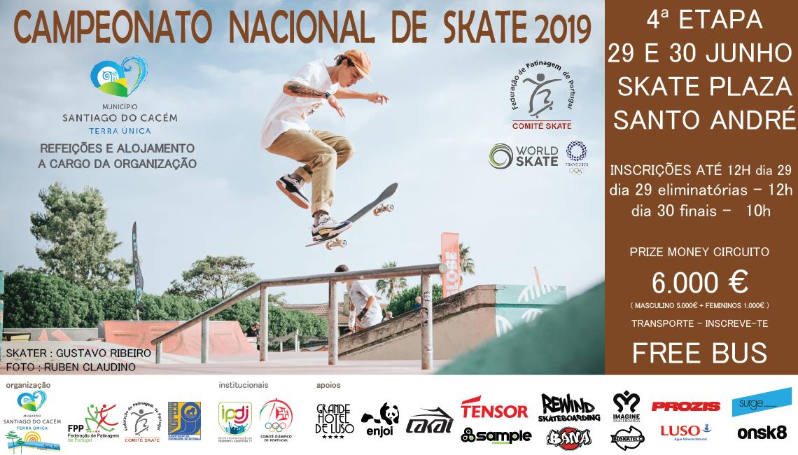 4ª Etapa Campeonato Nacional De Skate 29 E 30 De Junho – Skate Plaza De Santo André