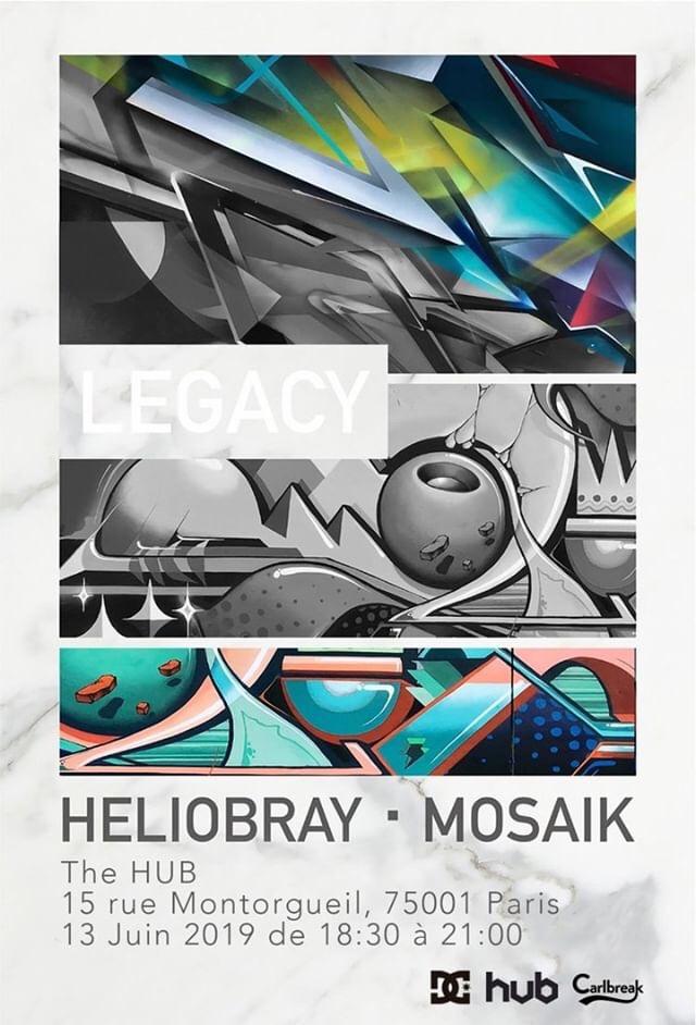 Heliobray E Mosaik No DC Shoes HUB Em Paris
