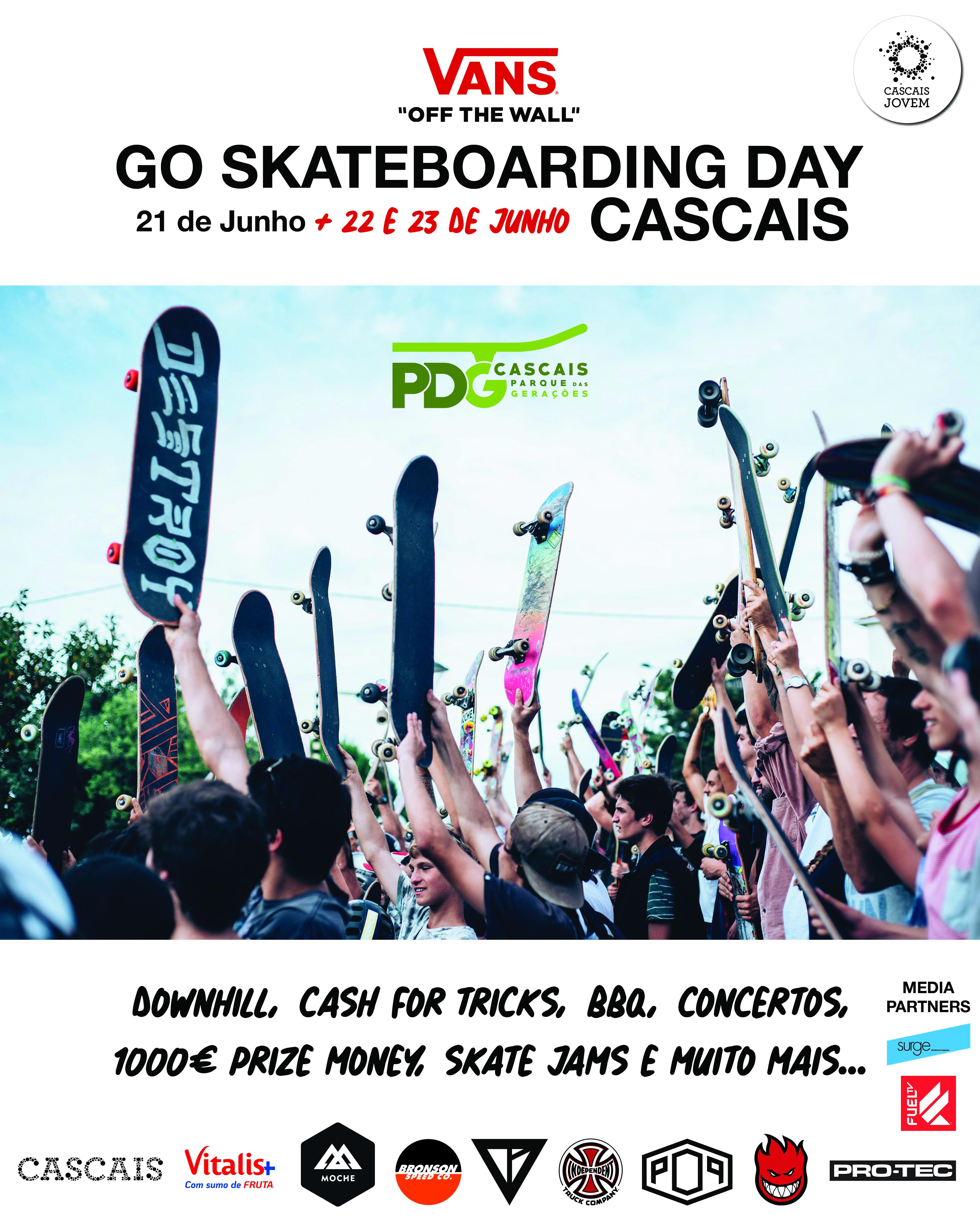 Vans Go Skateboarding Day – Cascais – 21, 22 E 23 De Junho…3 Dias De Festa!
