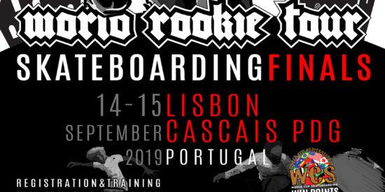 World Rookie Tour – Finais Mundiais No Parque Das Gerações 14 E 15 De Setembro – Inscrições Abertas!
