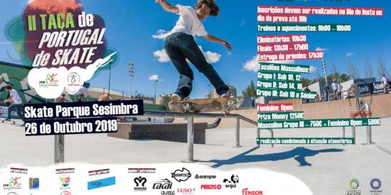 II Taça De Portugal De Skate Dia 26 De Outubro – Sesimbra