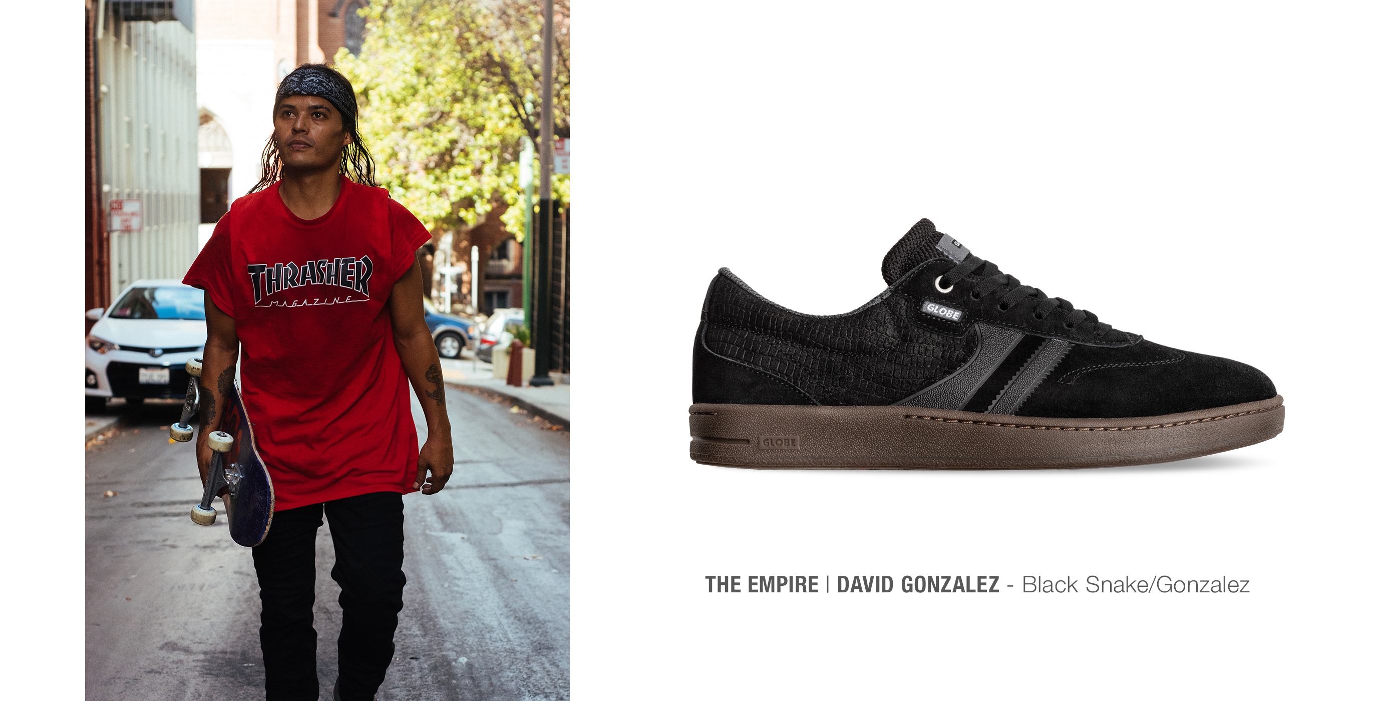 David Gonzalez – Spirit In Black – Globe Shoes