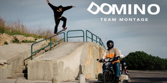 DC Shoes Domino -Team Montage Com Adilson Pedro E Tiago Lopes