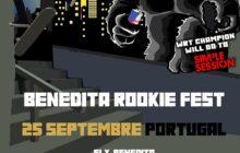 Cartaz World Rookie Fest SLX Benedita